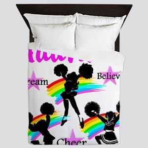 CHEERING GIRL Queen Duvet